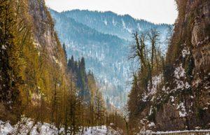 valles del Cáucaso