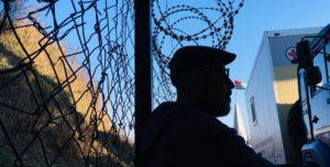 Paco Sánchez en la frontera de Abjasia